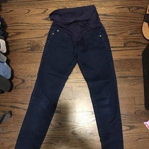 Denim - Pinkblush Maternity Skinny Jeans 26